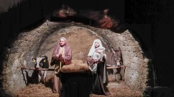 presepe vivente in puglia grotta - Travel Free From
