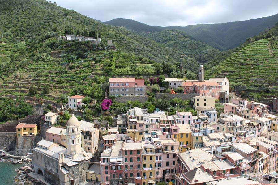 In giro per le cinque terre panorama - Travel Free From