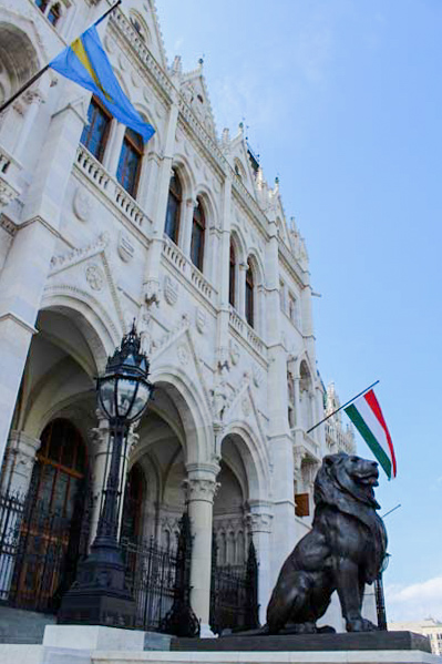 Parlamento ungherese leone  - Travel Free From