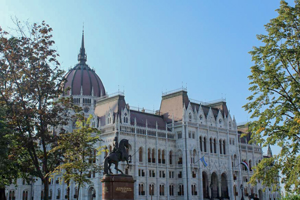 Parlamento ungherese prospettiva - Travel Free From