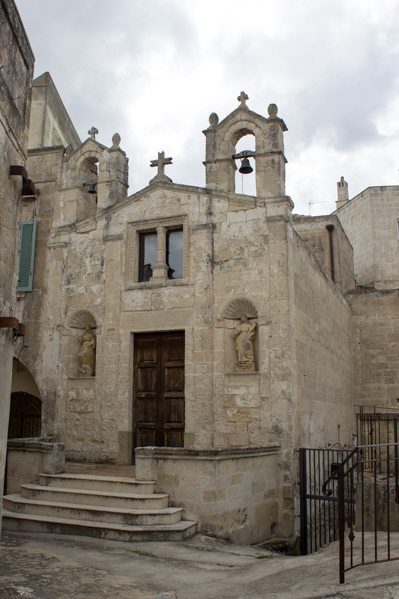 chiesa rupestre a Matera - Travel Free From