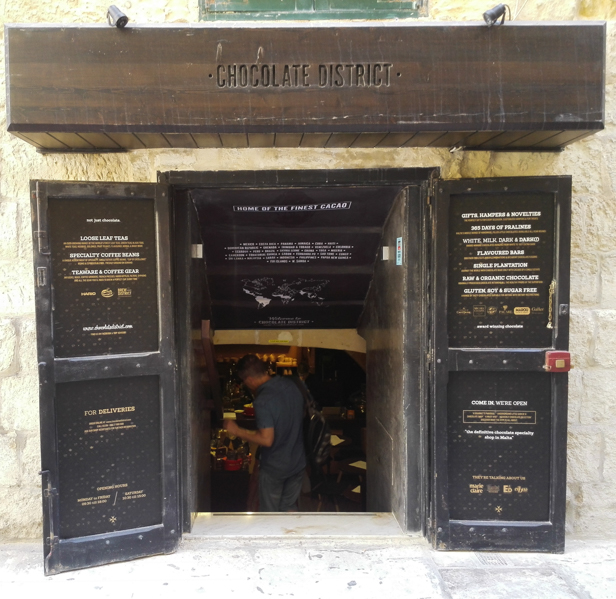 Valletta chocolate district - Travel Free From