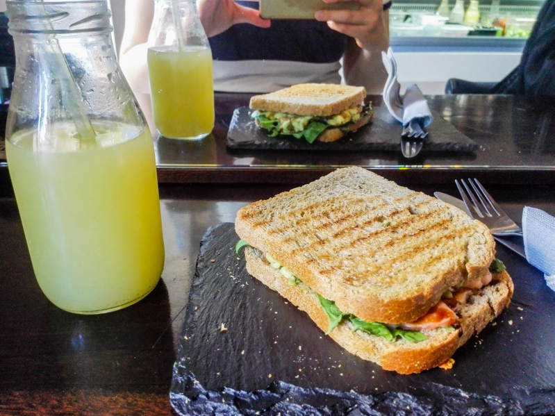 Food Tour Sliema Pure Living sandwich - Travel Free From 3