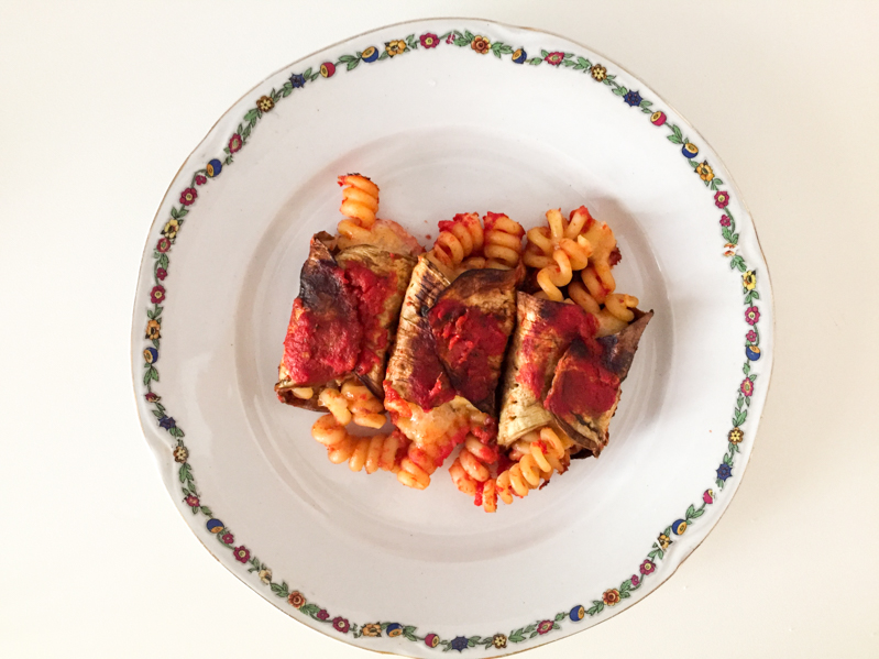 Involtini di melanzane e pasta al forno - Travel Free From