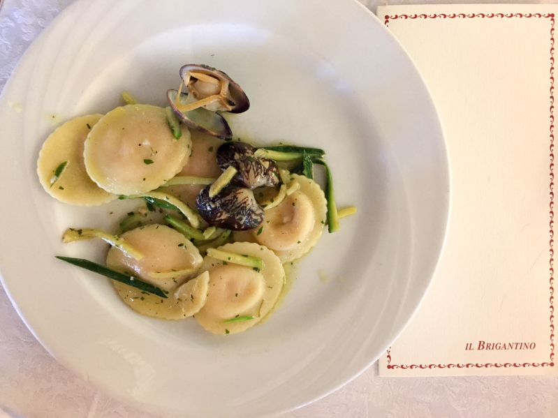Pranzo di Ferragosto ravioli - Travel Free From