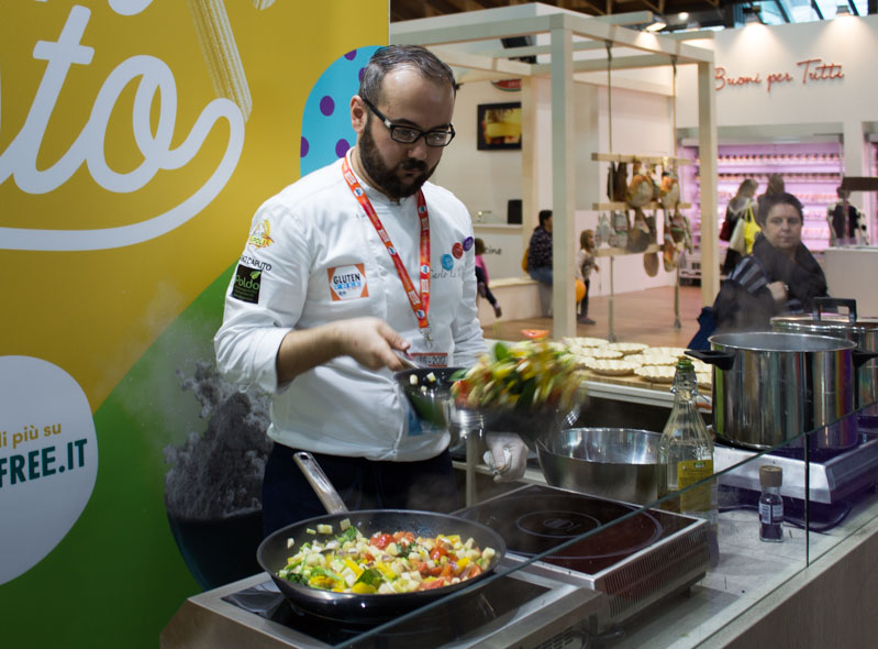 Lactose Free Expo show cooking - Travel Free From