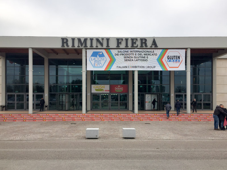 Kit senza lattosio in fiera - Travel Free From