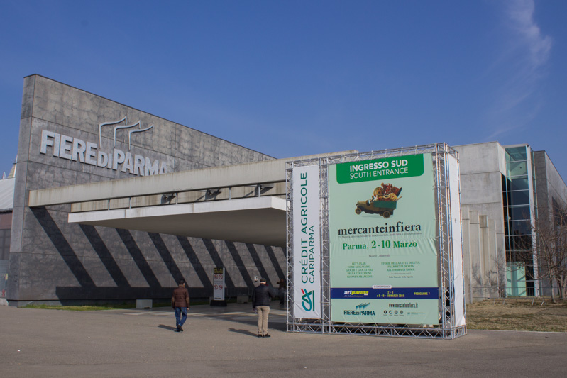 Mercanteinfiera di Parma ingresso - Travel Free From