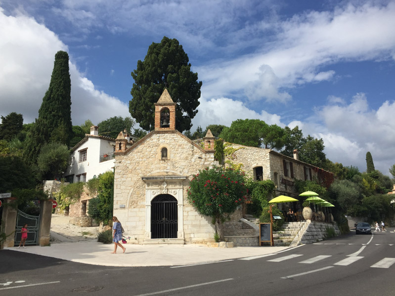Chiese a Saint Paul de Vence - Travel Free From