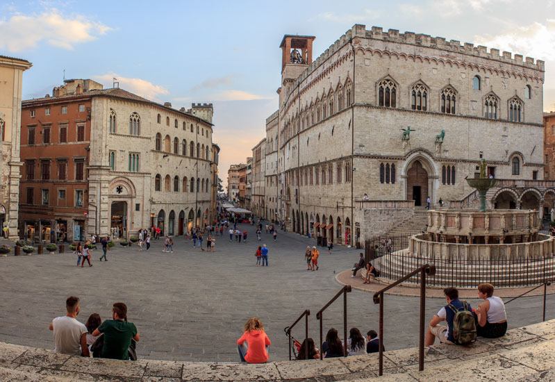 le mie prossime 10 tappe in italia - Perugia - Travel Free From